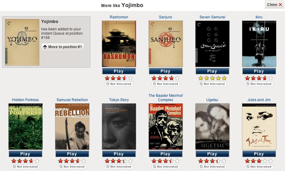 Netflix Choices